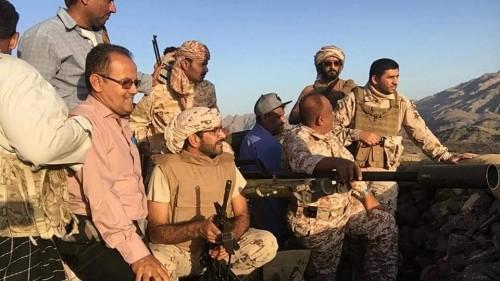 زيارة خاصة من نائب القائد العام لقوات التحالف لجبهة كرش.. تفاصيل (صور)