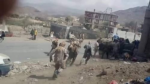 مقاتلات التحالف تشن غارات جوية على تجمعات للمليشيات غرب قعطبة