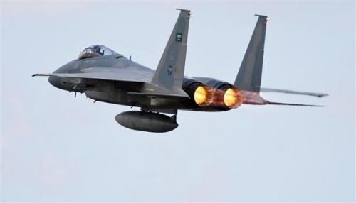 مقاتلات التحالف تستهدف تعزيزات عسكرية للمليشيات في الحشاء