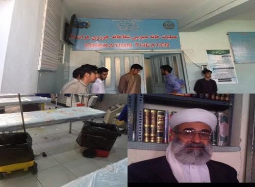 محاولة اغتيال الناطق الرسمي باسم أهل السنة بإيران في أفغانستان