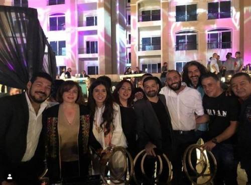 نجوم مصر في اجتماع على مائدة السحور في رمضان (صور)