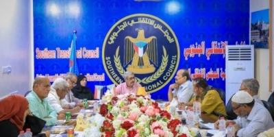 لجنة الحوار الجنوبي تناقش القضايا الوطنية مع جبهة التحرير والتنظيم الشعبي