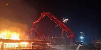 بدون خسائر بشرية.. حريق ينشب بأحد المباني بالعاصمة الإدارية الجديدة في مصر