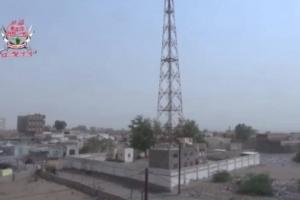 مليشيات الحوثي تقصف مواقع العمالقة في التحيتا بالحديدة
