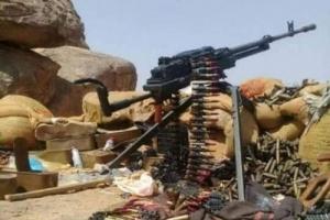 تدمير طقم عسكري تابع للمليشيات شمالي الضالع (تفاصيل)