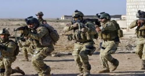 الجيش العراقي: دمرنا معسكر كبير لتنظيم داعش الإرهابي بالأنبار