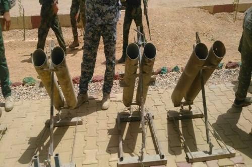 الأمن العراقي يعثر على منصة إطلاق صواريخ ببغداد