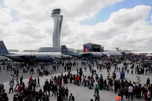 فشل جديد يلحق بأسطورة مطار إسطنبول