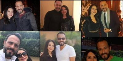 إنجي علاء تبعث رسالة رومانسية لـ يوسف الشريف في عيد زواجهما