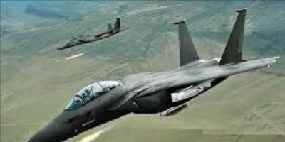 طيران التحالف يدمر منصتي صواريخ للحوثيين في حجة
