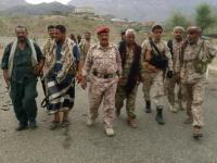 قيادات عسكرية تزور جبهات القتال بقعطبة (تفاصيل)