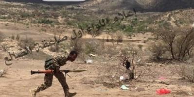 مقتل وجرح عشرات الحوثيين في معارك بمنطقة باجة غرب الضالع