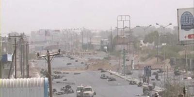 مليشيات الحوثي تقصف مواقع العمالقة والقوات المشتركة بالدريهمي والصالح