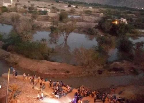 العثور على جثة شاب بعد يومين من غرقه في مياه السيول بشبام حضرموت