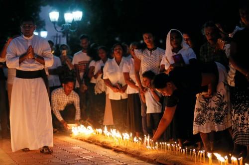سريلانكا تنظم احتفالا لتأبين ضحايا التفجيرات