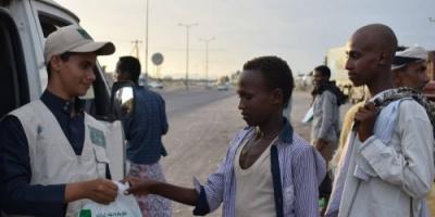 سلمان للإغاثة يواصل توزيع وجبات إفطار الصائم بلحج (صور)