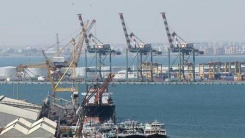 42% زيادة في معدل مناولة البضائع في أرصفة المعلا بميناء عدن