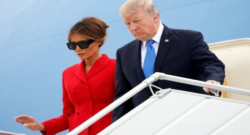 ترامب يبدأ جولته الأوروبية بأيرلندا