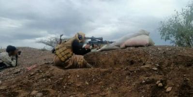 القوات الجنوبية تتصدى لهجوم حوثي على قرية بتار شمال الضالع