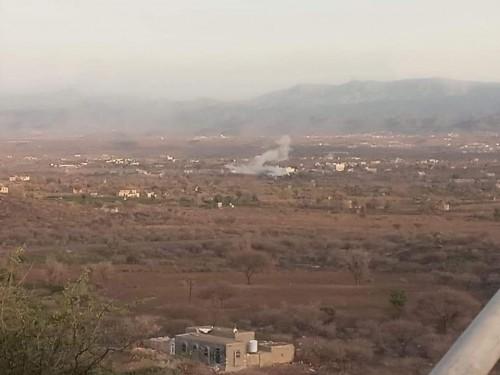 عاجل من الضالع .. القوات الجنوبية تطلق عملية عسكرية لتحرير منطقة حمر ومعسكر العللة وشخب