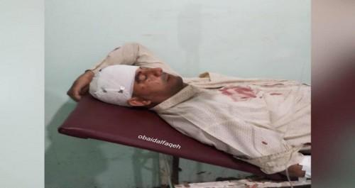 تفاصيل إصابة الصحفي شايف الحدي في معارك شمال الضالع