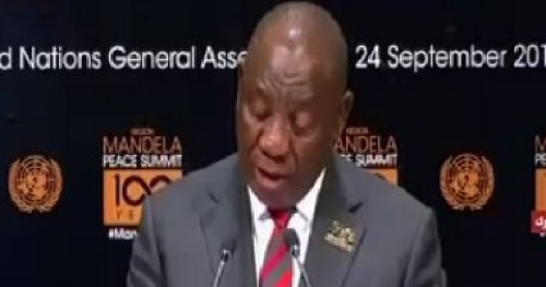 """برلمان جنوب إفريقيا ينتخب """"سيريل رامابوسا"""" رئيسا للبلاد"""