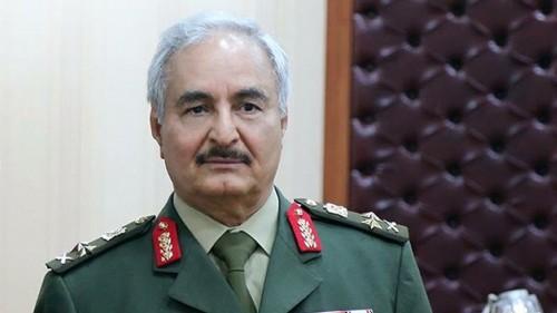 حفتر: الجيش الوطني الليبي لا يستفيد من عائدات النفط في شرق ليبيا