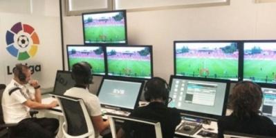 لجنة الحكام بالاتحاد الإسباني تشيد بتجربة حكم الفيديو