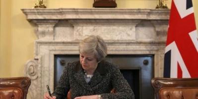 صحيفة: رئيسة الوزراء البريطانية تيريزا ماي ستعلن استقالتها غداً