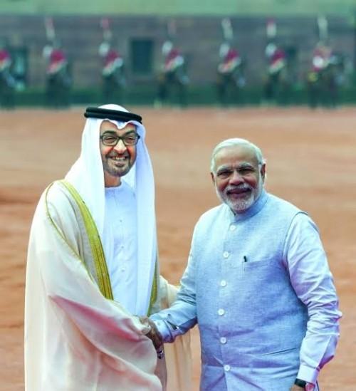 محمد بن زايد يهنئ رئيس وزراء الهند بفوزه في الانتخابات