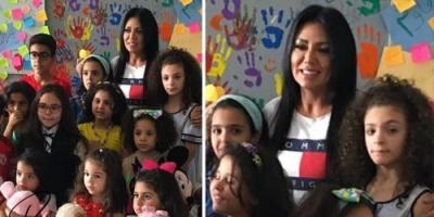 رانيا يوسف تدعم مستشفى أبو الريش للأطفال بهذه الطريقة (صورة)