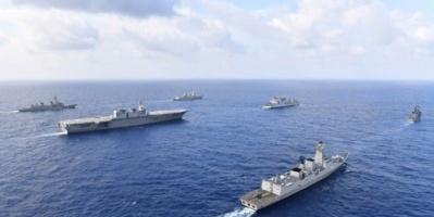 طوكيو وسول تشاركان في مناورة بحرية بقيادة أمريكا
