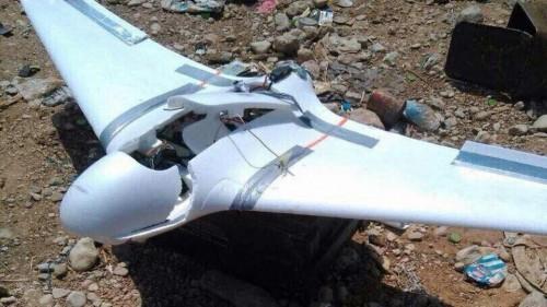 القوات الجنوبية تسقط طائرة تصوير حوثية شمال الضالع