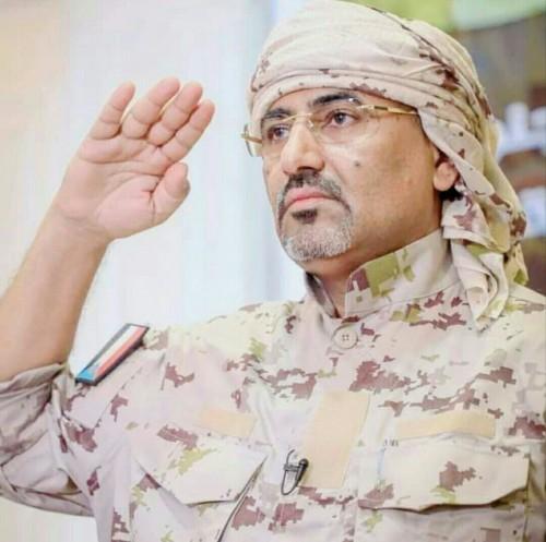 مسهور يستشهد بمقولة اللواء الزبيدي بعد تحرير مديرية الجبارة