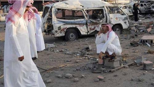 السعودية تدعو لاتخاذ موقف حازم إزاء استهداف الحوثيين للمناطق السكنية