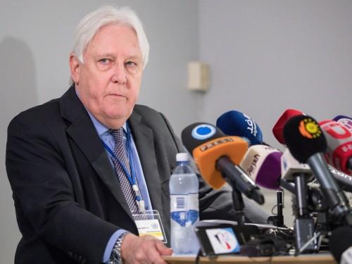 """التفاصيل الكاملة لرد الأمين العام للأمم المتحدة على شكوى هادي من """" غريفيث """""""
