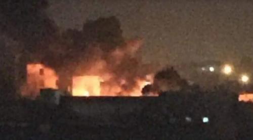 الجيش الليبي يقصف مواقع تابعة لحكومة الوفاق جنوب شرق طرابلس