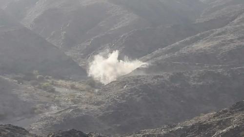 مصرع وإصابة 7 حوثيين بمديرية الملاجم في البيضاء