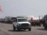 """""""الغذاء العالمي"""" تتمكن من إدخال المساعدات للسكان المحاصرين في الدريهمي (فيديو)"""