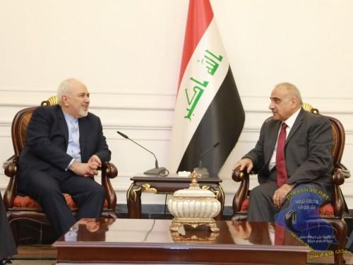 تفاصيل مباحثات وزير الخارجية الإيراني مع نظيره بالعراق
