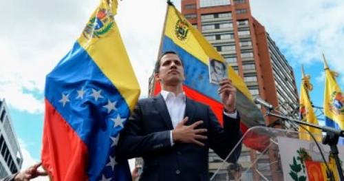 جوايدو يعلن عن إيفاد مندوبين إلى أوسلو لبحث الأزمة السياسية في فنزويلا