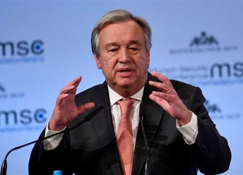 """عاجل.. الأمين العام للأمم المتحدة لـ """" هادي """": المنظمة تتصرف كوسيط محايد في اليمن"""