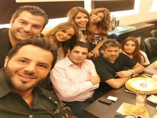 هكذا احتفل نجوم لبنان بعيد ميلاد الإعلامي نيشان (صور)