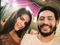 دنيا عبد العزيز تحتفل بعيد ميلاد المخرج محمد سلامة (صور)