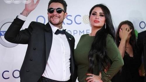 أحمد الفيشاوي يحتفل بعيد زواجه الأول من ندى الكامل (صورة)