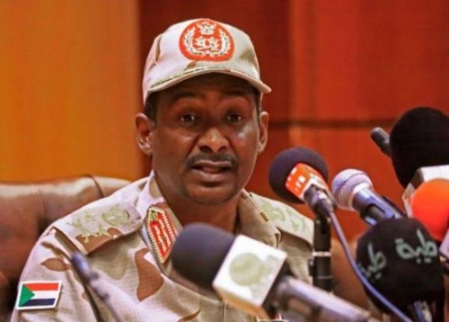 دقلو: مستعدون لتشكيل حكومة سودانية مدنية في غضون 3 أشهر