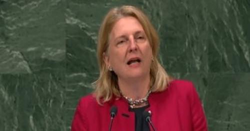 وزيرة خارجية النمسا: ندعم حرية الصحافة في جميع دول العالم