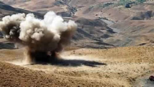 إصابة طفلين جراء انفجار لغم حوثي في السوادية بالبيضاء