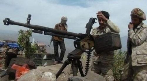 هجوم كاسح للقوات الجنوبية على مناطق تمركز الحوثي بالفاخر