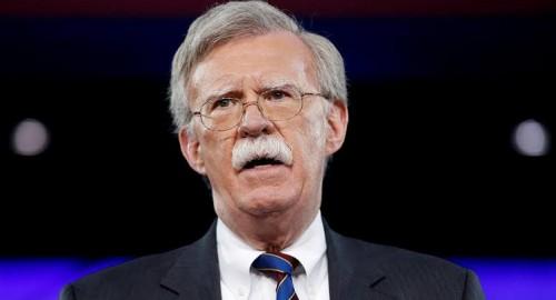 بولتون: سنقدم الأدلة على تورط إيران في الاعتداء على السفن في خليج عمان